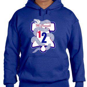 Philadelphia 76ers TJ McConnell Hooded Sweatshirt